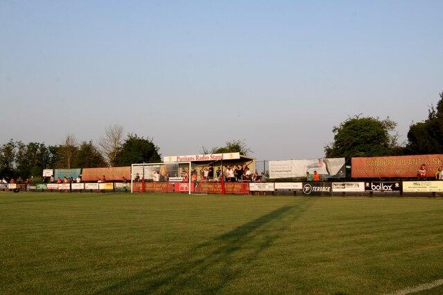 The Sutton End at the Banbury Plant Hire Community Stadium