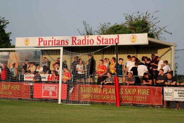 The Puritans Radio Stand at the Banbury Plant Hire Community Stadium