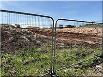 SP3665 : HS2 enabling works, Welsh Road area, June 2021 (8) by Robin Stott