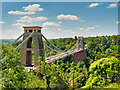 ST5673 : Clifton Suspension Bridge from Observatory Hill by David Dixon