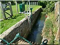 SS9945 : Flow recorder on the River Avill by Stephen Craven