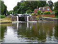 SP1876 : Grand Union Canal - lock No. 51 by Chris Allen