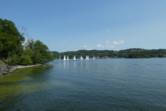 Windermere near the ferry