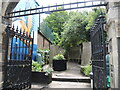 ST5871 : The Ebenezer Gate Pocket Park by Neil Owen