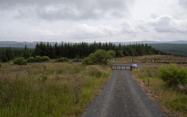 Track near Glenariff