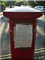 ST5874 : Message on postbox, Redland by Derek Harper