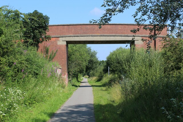 Bridge over the York and Selby Path