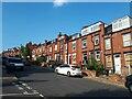 SE2734 : Terraced houses, Argie Road by Stephen Craven