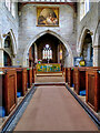 SE2280 : St Mary's Parish Church (interior) by David Dixon