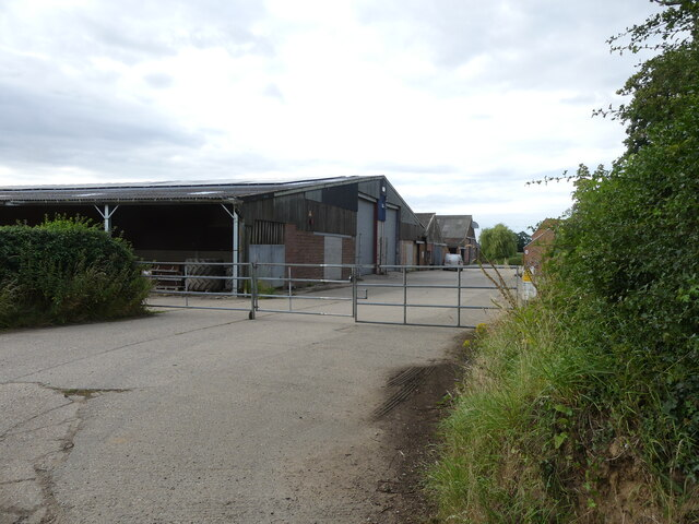 Church Farm, Farmyard