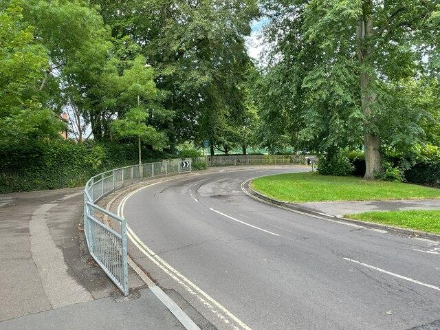 Darlington Road becomes Vyne Road by Sandy B