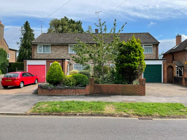 Houses on Darlington Road by Sandy B