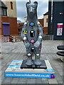 SK3586 : Bears of Sheffield: #30 Bertie Bear by Graham Hogg