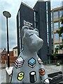 SK3586 : 'Bertie Bear' goes to University by Graham Hogg