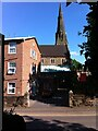 SP3279 : Catholic Church of The Most Holy Sacrament and St Osburg, Coventry by Alan Paxton