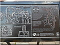 SU9676 : Part of the Information Board in Windsor High Street (3) by David Hillas
