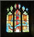SO5719 : Goodrich Castle - Chapel - Millennium Window by Rob Farrow