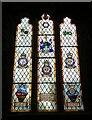 SO5719 : Goodrich Castle - Chapel - Radar Research Squadron window by Rob Farrow