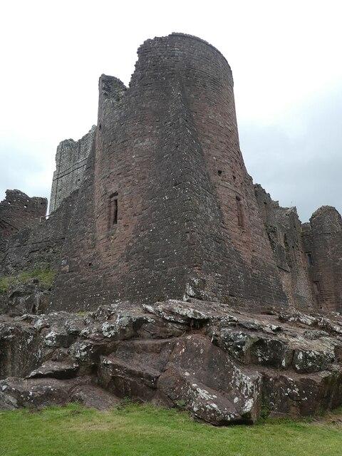 Goodrich Castle - Southeast Tower - Exterior