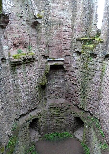 Goodrich Castle - Southeast Tower - Interior