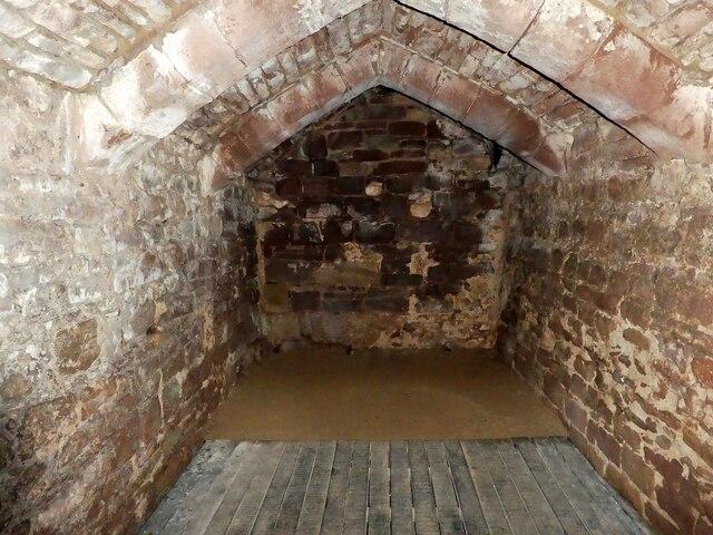 Goodrich Castle - Dungeon beneath the keep