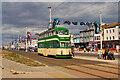 "SD3034 : Balloon Tram ""Walter Luff"" on Blackpool Promenade by David Dixon"