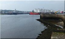 NJ9505 : Pocra Quay at Aberdeen Harbour by Mat Fascione