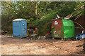 SX8863 : Loo and storage, Scadson Plantation by Derek Harper