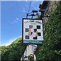 SK2476 : The sign of The Chequers Inn by David Lally