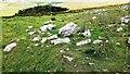 SD9070 : Rock strewn moorland east of Darnbrook Farm by Roger Templeman