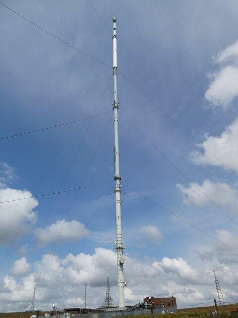 TV mast on Winter Hill