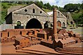 SO2409 : Model of the Blaenavon Ironworks by Philip Halling