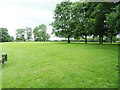 TL9634 : Green next to the River Stour at Nags Corner by Geographer