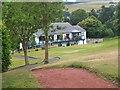 NT2440 : Club House, Peebles golf course by Jim Barton