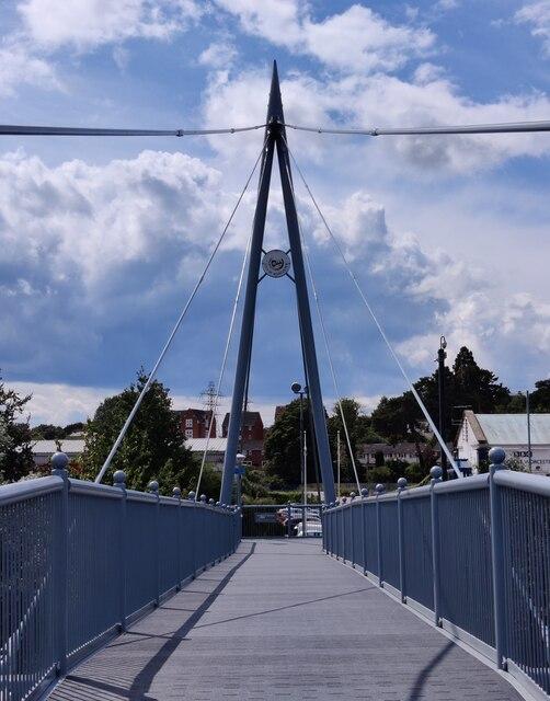 Worcester's Sabrina Bridge