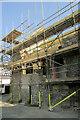 SX9064 : Zion chapel under scaffolding by Derek Harper