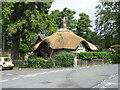 ST5575 : New thatch in Stoke Bishop by David Purchase