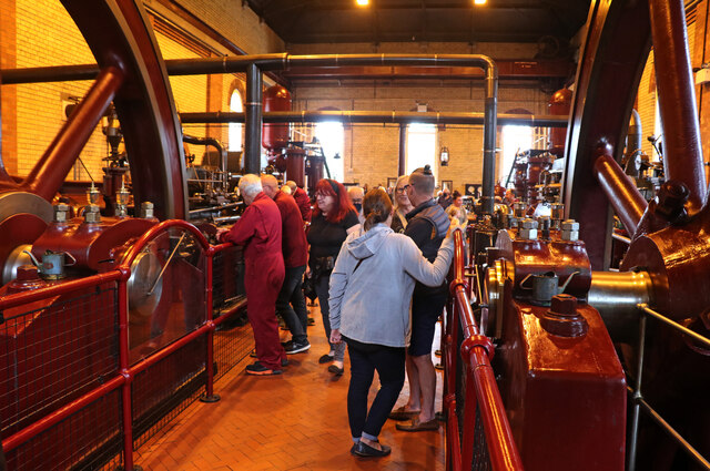 Mill Meece Pumping Station - back in business