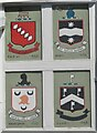 SX8751 : Dartmouth - Coats of Arms by Colin Smith