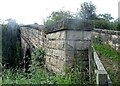 NZ1448 : Stone bridge parapet by Robert Graham