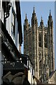TR1557 : The tower of Canterbury Cathedral by Philip Halling