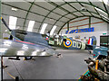 NY0078 : The Loch Doon Spitfire at Dumfries Aviation Museum by David Dixon