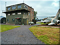 NX9978 : Dumfries and Galloway Aviation Museum, Former RAF Control Tower by David Dixon