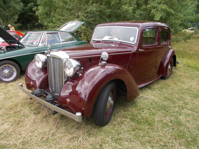 Alvis TA 14 at the Maxey Classic Car Show - August 2021