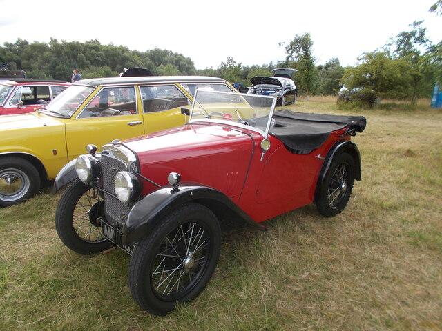 1934 Austin Arrow at the Maxey Classic Car Show - August 2021