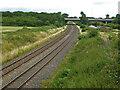 SO8751 : Railway at Norton, Worcestershire by Chris Allen