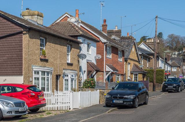 Lower Road by Ian Capper
