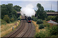 SO8751 : Clan Line on the Cotswolds Venturer at Norton, Worcestershire by Chris Allen