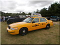 TF1207 : Ford Crown Victoria New York taxi at the Maxey Classic Car Show - August 2021 by Paul Bryan