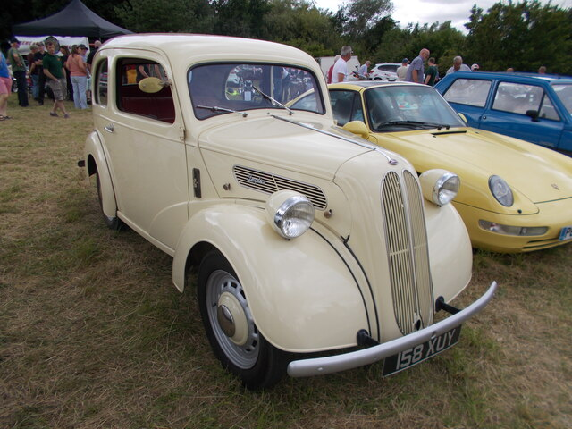 1950s Ford Anglia E494A at the Maxey Classic Car Show - August 2021